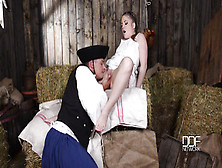 Hard Core Intercourse In Barn - Alessandra Jane