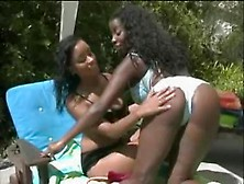 Black Sex Video Featuring Mya Lovely And Vanessa Blue