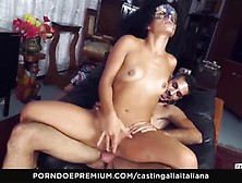 Casting Alla Italiana Amateur Squirts In Anal Session