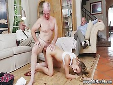 Couple Fuck Teen Anal Threesome Molly Earns Her Keep