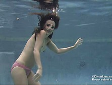 Bikini Nude Underwater Breath Holding Images