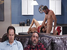 Charles Fucks His Best Friend's Wife In The Kitchen