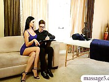 Sexy Masseuse Jasmine Jae Gives Massage And Fucked By C