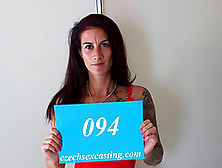 Tattooed Czech Cougar On Sex Casting
