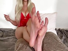 Self Perspective Small Rod Humiliation With Feet - Slutty Talk Sph