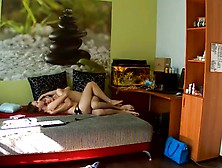Hot Couple Fucking Hard In Cowgirl Position Inside The Bedroom!