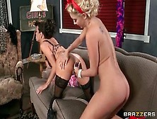 Lesbian Sex Video Featuring Veronica Avluv And Aaliyah Love