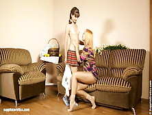 Flower Couple By Sapphic Erotica - Lezzie Love Porn With