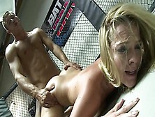 Winner Mma Fighter Get Fucked In Cage From Young Pornstar Alexis Texas