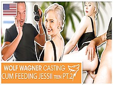 Jessii Van Riva: Screwed & Spunk-Fed Outside The Apartment (Part Two)! Wolf Wagner Casting