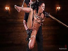 Kira Noir Got Tied Up The Way She Likes The Most And Got Forced