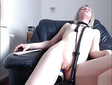 Pretty Good Shaved Webslut Toying Her Twat