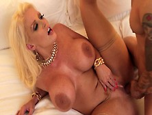 Milf Alura 'tnt' Jenson Gets Her Pussy Smashed In Hard Roleplay Fuck For Cash