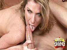 Sexy Kayla Paige Stripped And Blowjobs