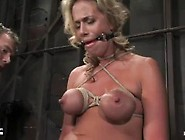 Kylie Worthy Is Breast Bound With Tight Ball Gag And Intense Org