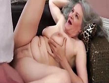 Buxom Mature Aurora Eaten Out Sucks Cock And Is Facialized