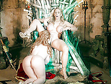 Ella Hughes And Rebecca Moore Queen Of Thrones Part 4 A Xxx Parody
