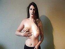 Big Tits Goth Girl Trying Clothes