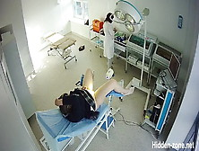 Medical Examination Of Women In Russia.  Hidden Camera!