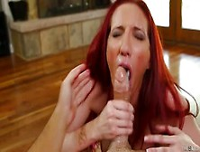 Unbelievable Buxomy Experienced Female Kelly Divine Giving A Han