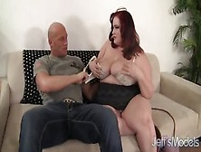 Sexy Buxomy Eliza Allure Featuring Hot Sex Action Ending With Cumshot