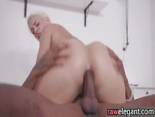 Glam Busty Blonde Anally Nailed By Bbc