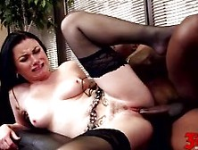 Veruca James Takes Black Monster Cock