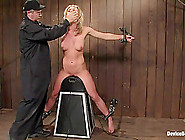 Mason In Masonformer College Track Star Bound On Sybian Made To