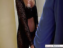Amazing Blonde Woman,  India Summer Needed A Good Fuck,  So She Asked Her Neighbor To Stop By
