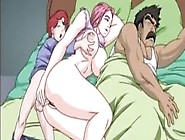 Hot Cartoon Xxx - Big Breasted Pink Haired Milf Fucks A Young Boy