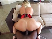 Supreme Buxomy Black Sara Jay Is Making Him Cum