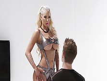 Blonde Fuckdoll Nicolette Shea Nailed In Different Positions
