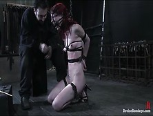 Teasing Arachnia Webb In Real Bdsm Action