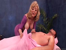 Spicy Breasty Mom Nina Hartley In Great Massage Porn Video