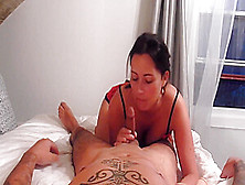 Blowjob,  Reverse Cowgirl,  Dp And Creampie For Christmas !!!!!!