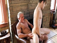 Hot Athletic Body Blonde Twink Grandson Has Sex With Hunk Grandp