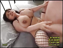 Asian With Huge Tits Enjoys Many Sexual Encounters