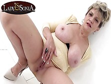Busty Blonde Old Girl Sonia Has A Filthy Mind