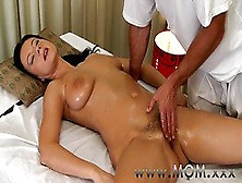 Brunette Has The Massage Of Her Life