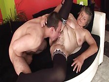 Grannyguide - Chubby Hairy Granny Fucked By Step Grandson