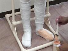 sex in plaster cast