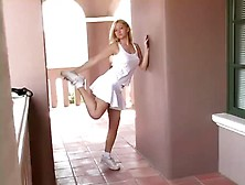 Ftv Girls - Allison Angel White Mini Skirt Day. Wmv