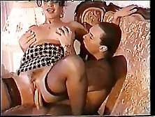 Italian Woman Is Sucking Her Lover's Dick,  While His Wife I