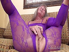 Nylon Body Suit Masturbation