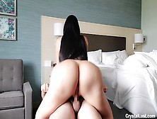 Pervy Step Family Vacation I Snuck Into My Curvy Latin Stepsister Hotel Room & Rammed Her Enormous Bum