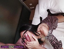 Mature Big Tits Shemale Rides Huge Cock