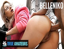 True Amateurs - Gamer Chick Belleniko Likes Anal And Large Meat