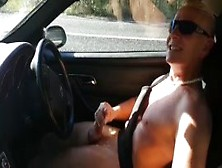 Car Roadside Wank