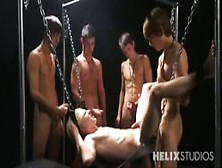 Helix Academy Orgy - Evan Parker,  Jesse Montgomery,  Chase Young,