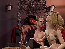 Sucking And Riding A Cock Makes Lily Labeau Reach An Orgasm
